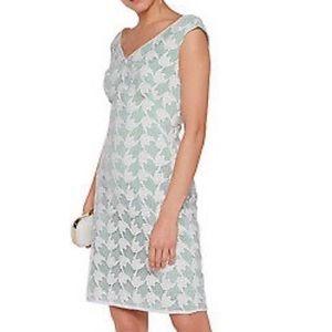 TORY BURCH Brooklyn Sleeveless Dress Lace Size 10